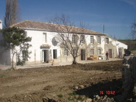 Country estate restoration in Andalucia