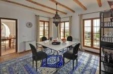 Dining Room, beautiful finca for sale in the pueblo blanco Gaucin