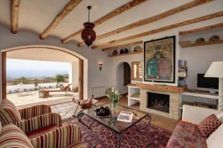 Living Room, beautiful finca for sale in the pueblo blanco Gaucin