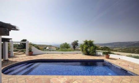 Pool, delightful country villa in Gaucin