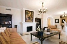 Living room, Villa for sale in Marbella Golden Mile