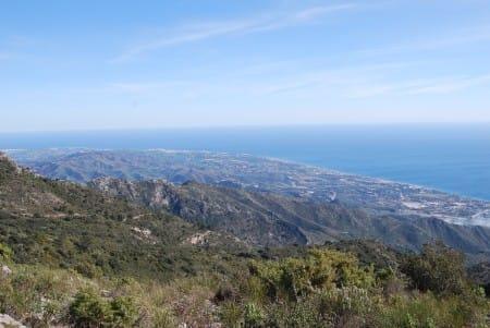 Marbella view afrom La Concha