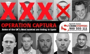 Crime Stoppers, Operacion Captura, Catching criminals in Spain