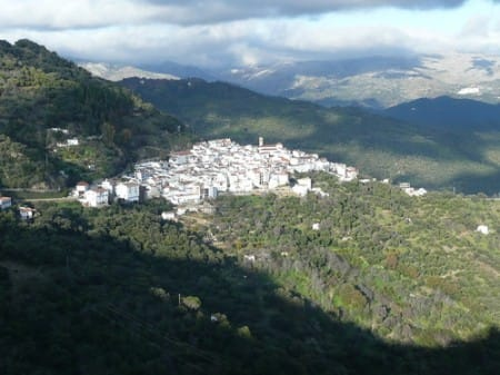 The Genal Valley, Malaga Countryside and forest