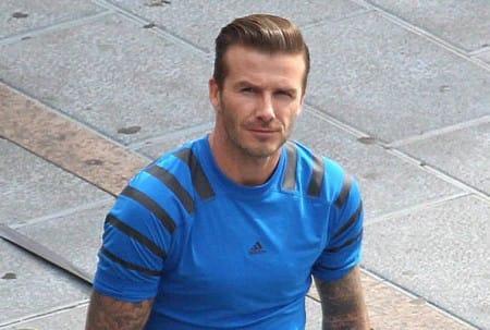 David Beckham in Marbella