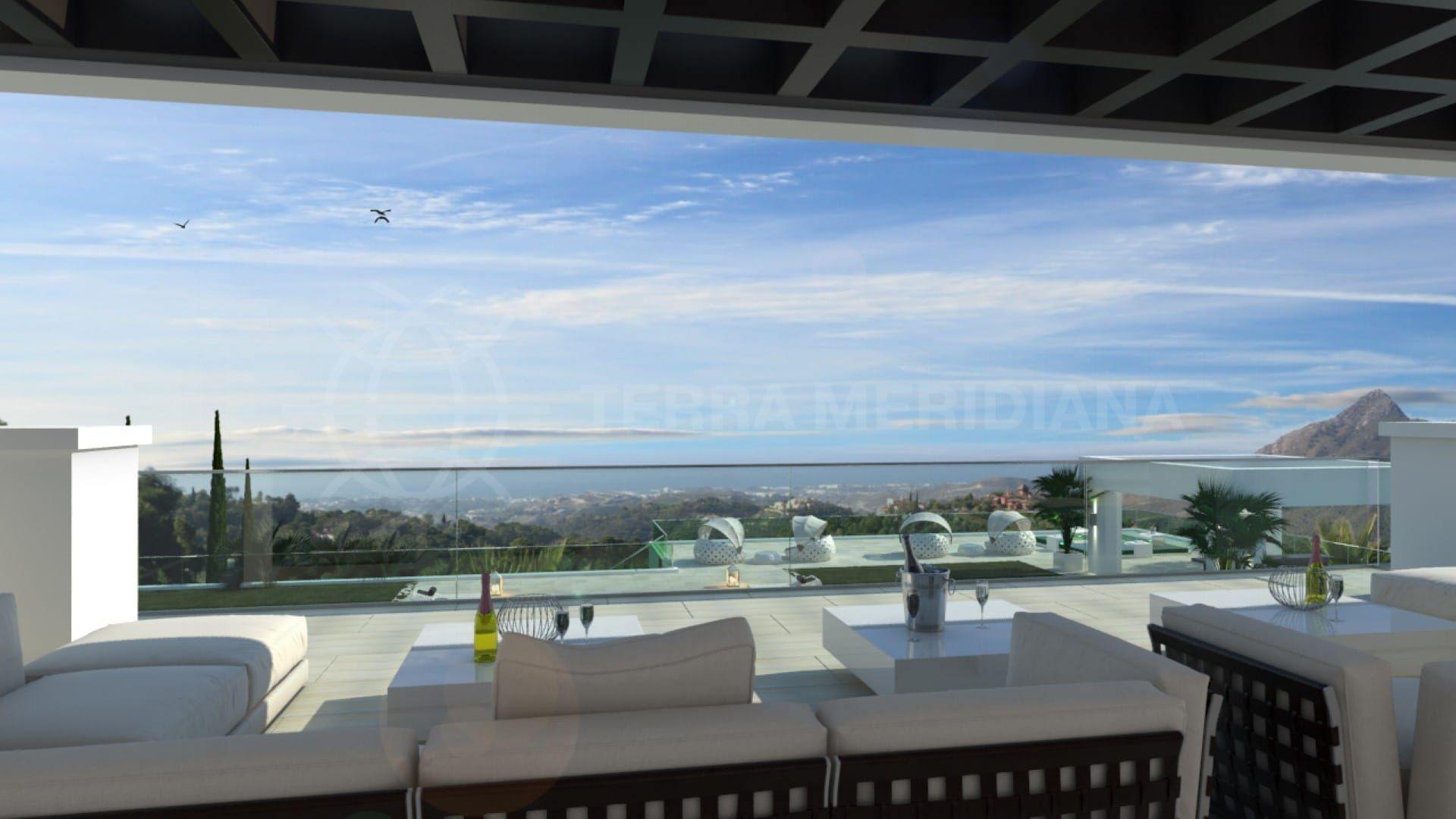heaven 11 new build modern villa in la zagaleta benahav s. Black Bedroom Furniture Sets. Home Design Ideas