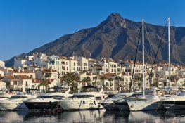 The forecast? Sunshine and clear skies for Marbella