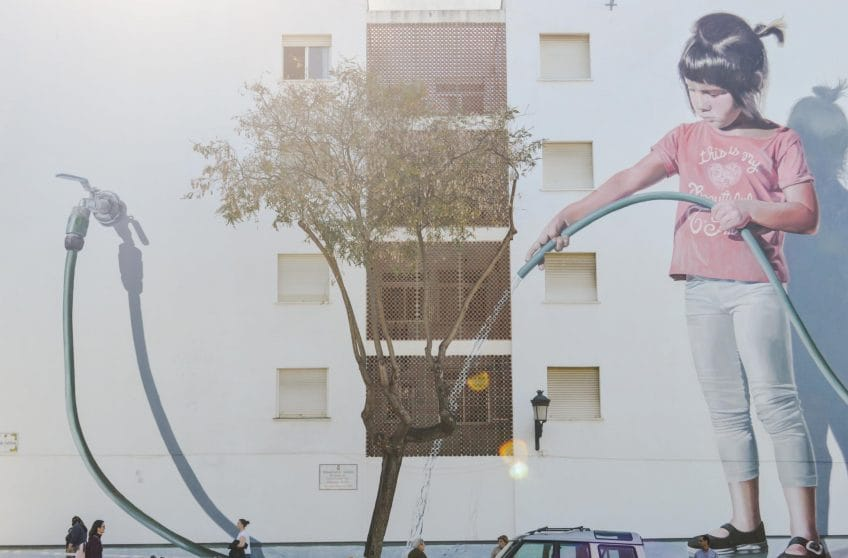 Urban Art, Estepona Old Town Style