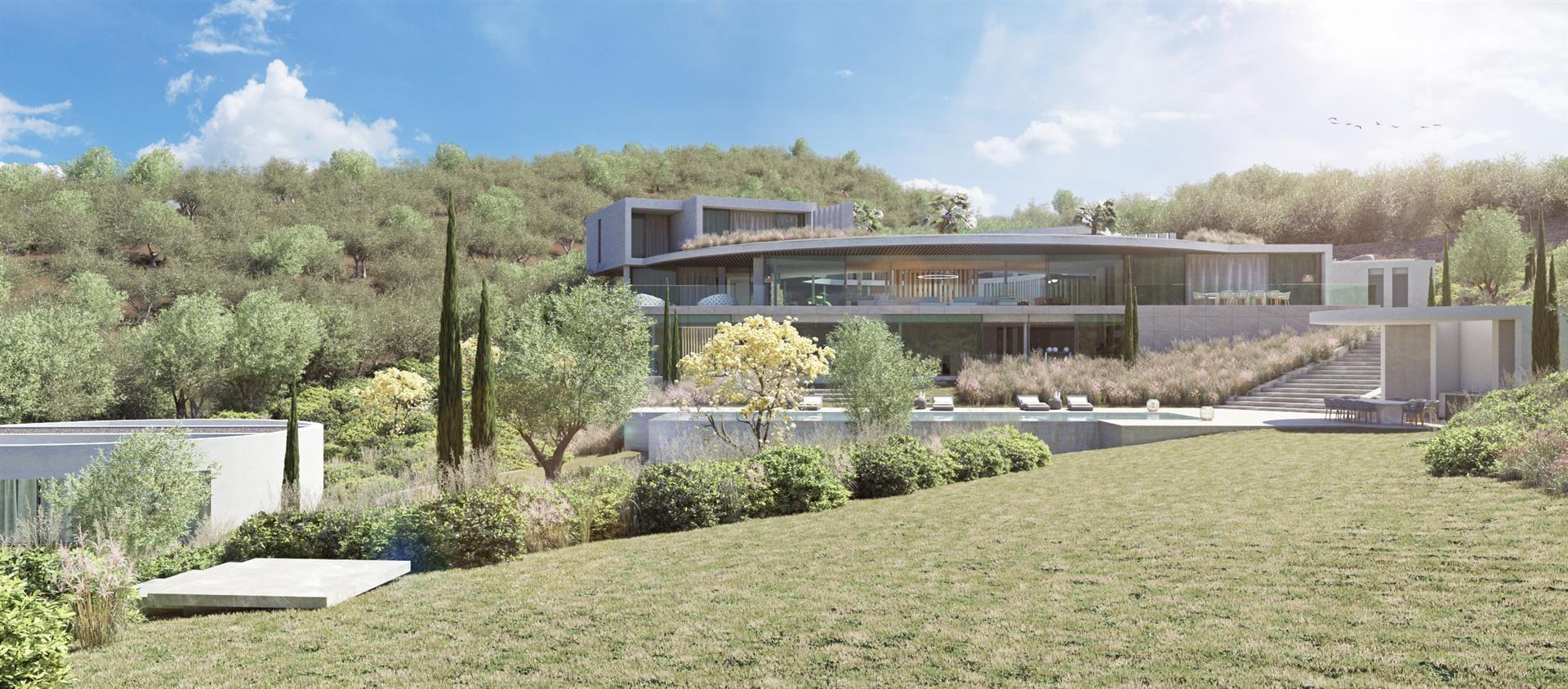 Villa moderna de lujo en La Reserva de Sotogrande
