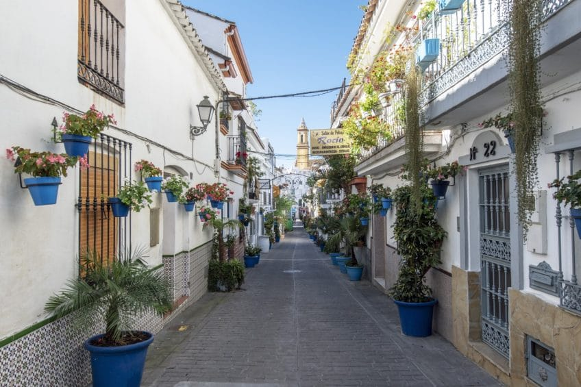Rustic charm house in Estepona