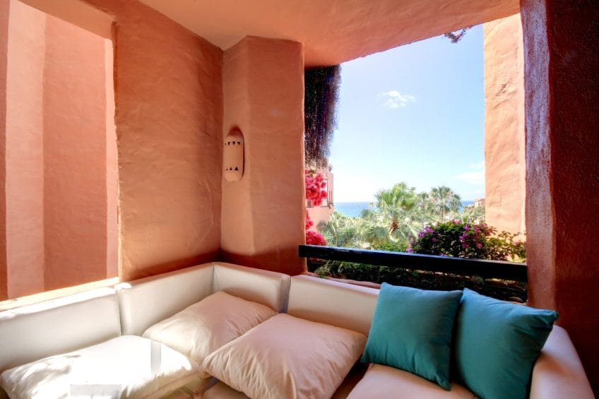 Sea views from Kempinski Bahia Hotel