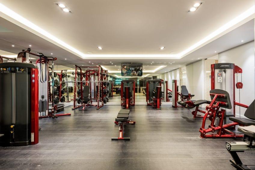 Gym in Villa Mozart, Marbella, Costa del Sol