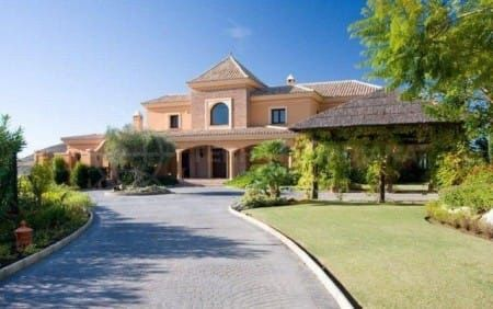 Villa exclusiva en Marbella Club Golf