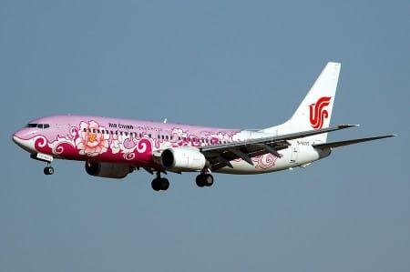 Air China fija su mirada en la Costa del Sol