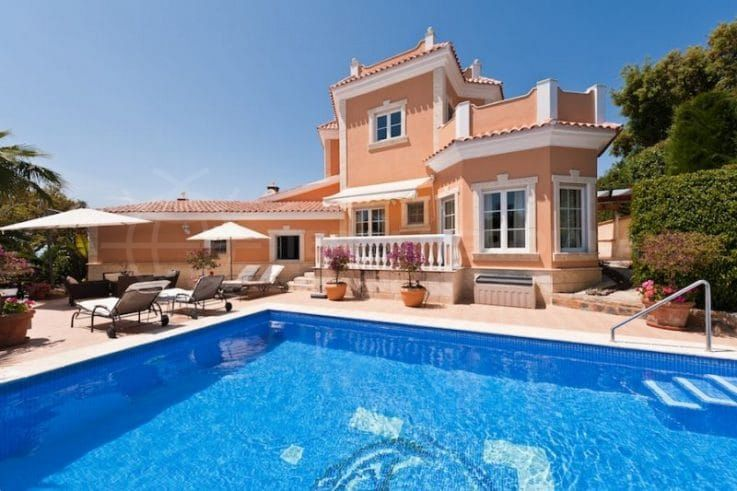 El Rosario, a hillside neighbourhood in the exclusive resort town of Marbella