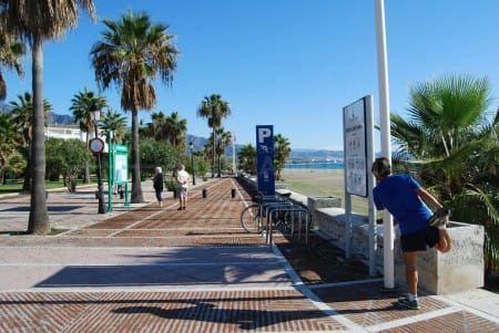 De Mijas à Estepona par la promenade du front de mer