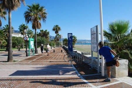 From Mijas to Estepona by seafront promenade