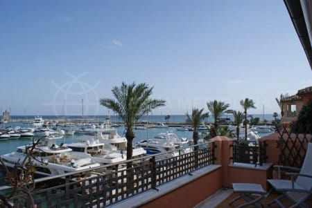 The marina at Sotogrande: high standing facilities for yachters set in one of the most exclusive resorts of the Andalusian coast