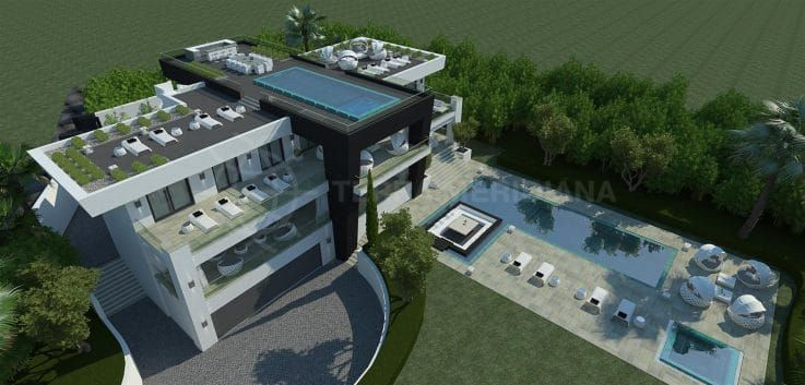 Villa Mozart: New luxury build in Sierra Blanca, Marbella