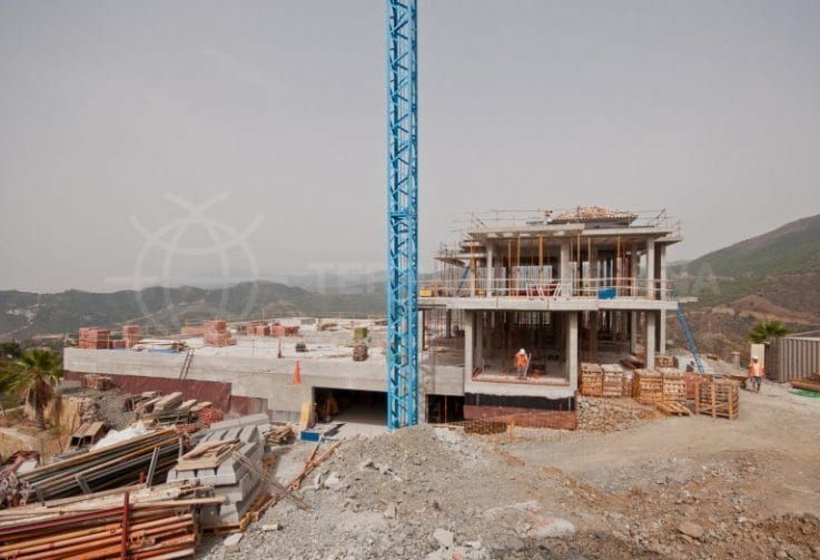 Fase 4: construcción del tejado