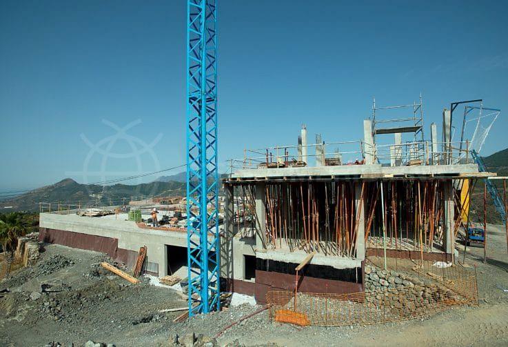 Fase 3: construcción de la planta baja y la primera planta