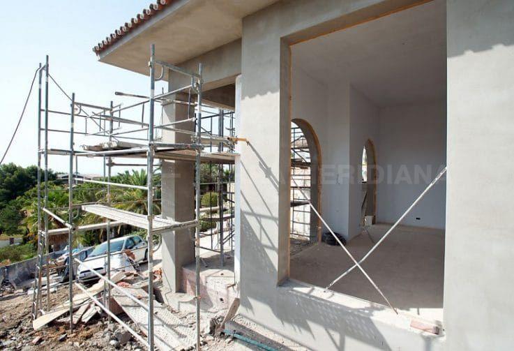 Étape 3 : construction de la nouvelle entrée et du patio