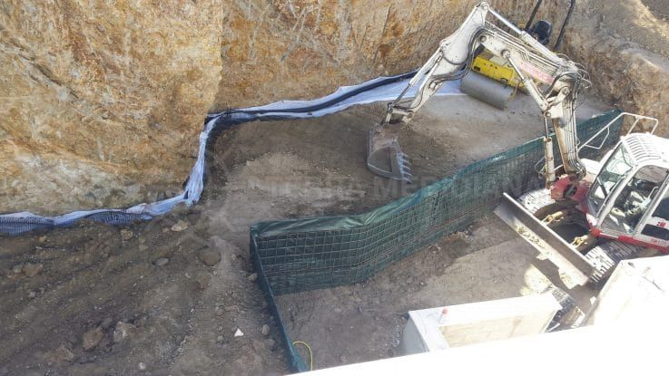 Fase 4: construcción del nuevo sótano
