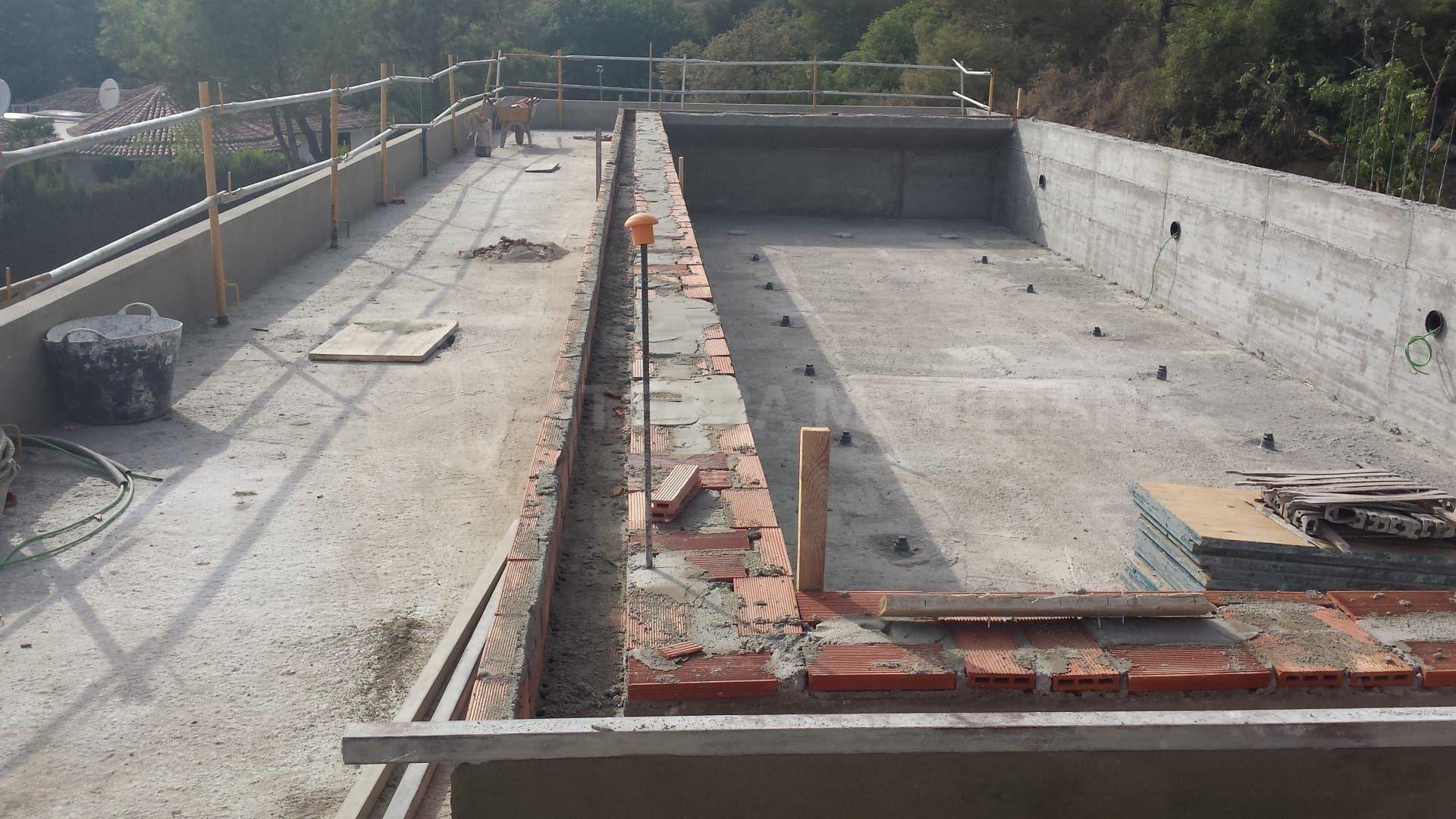 Étape 6 : finition de la piscine et du nouveau garage