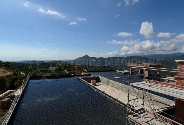 Fase 5: encalado de la fachada e impermeabilización de la terraza