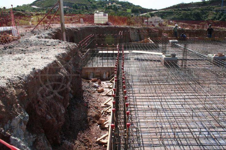 Villa Tranquilla: building the structure
