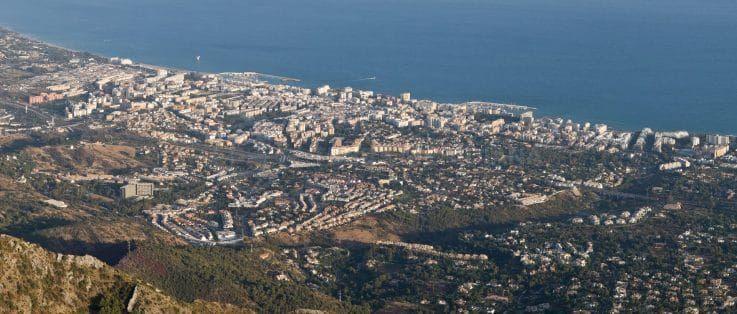 En ce qui concerne l'immobilier résidentiel, Marbella et Estepona sont en tête