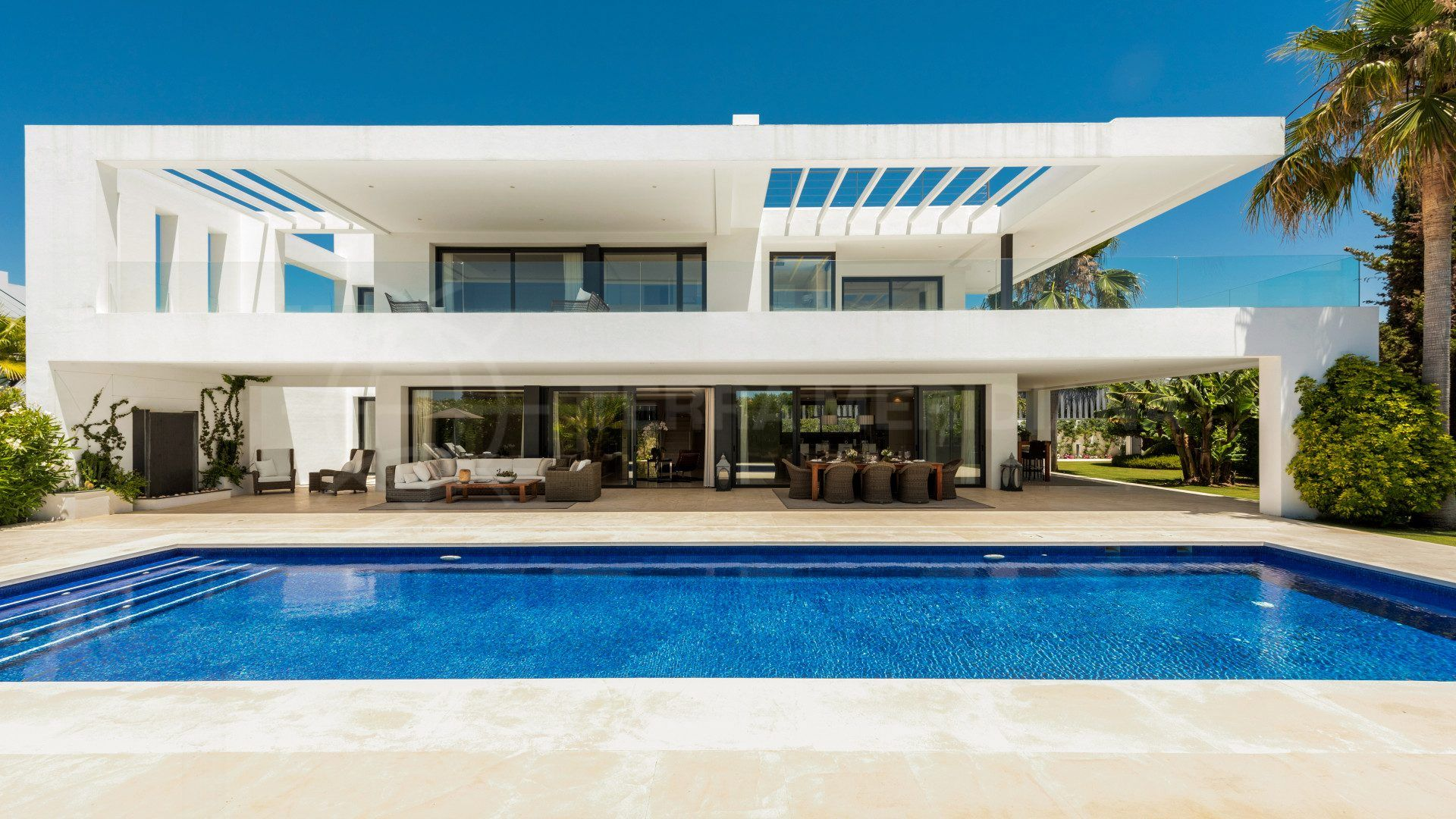 Newly built villa on the Costa del Sol