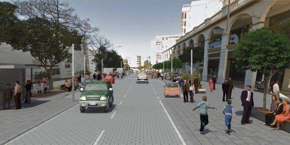 Lots of interest in new road development in Estepona
