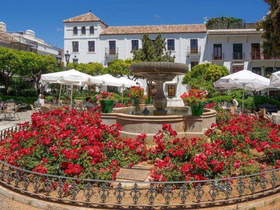 Vivre dans la vieille ville d'Estepona