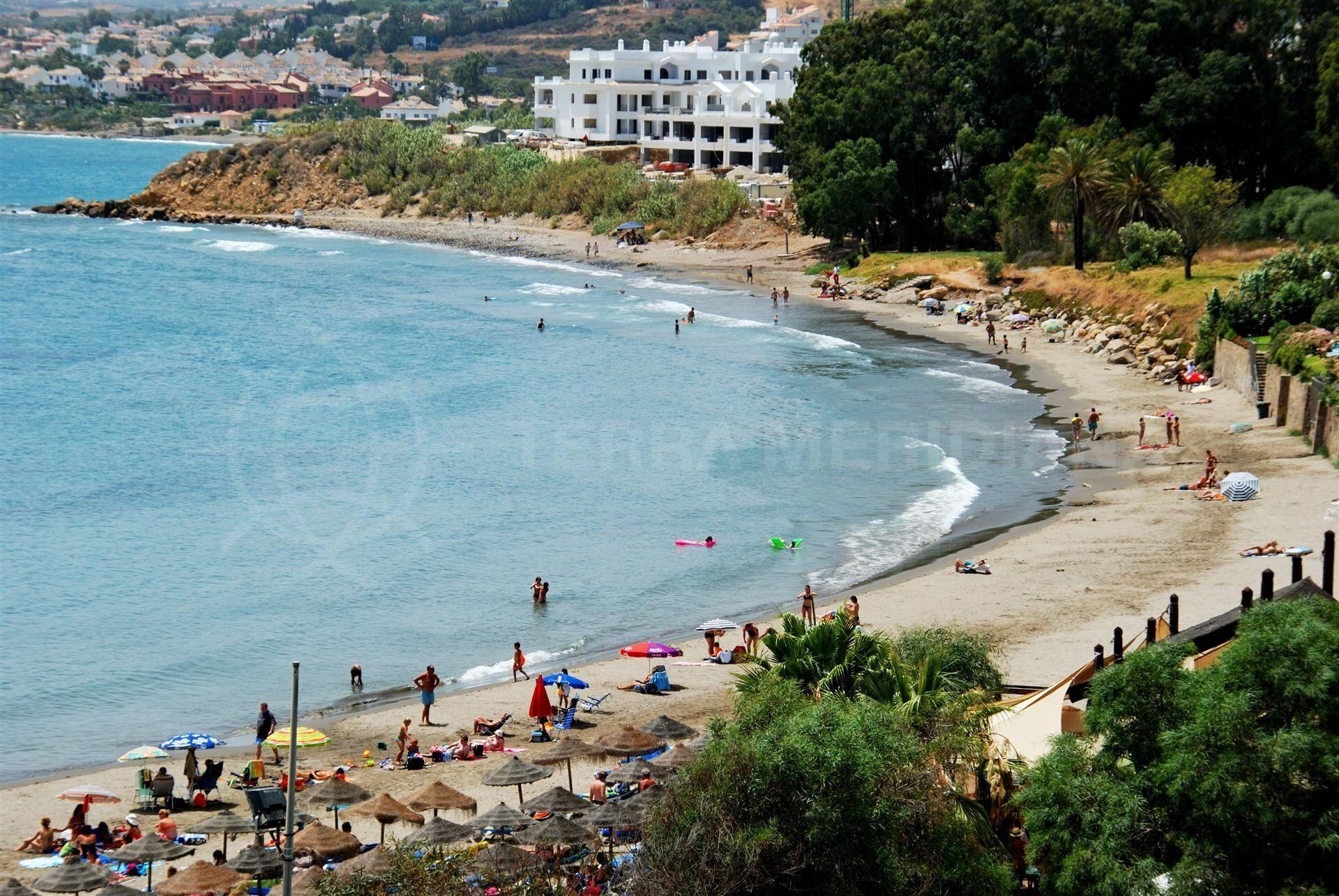Estepona beaches Mediterranean