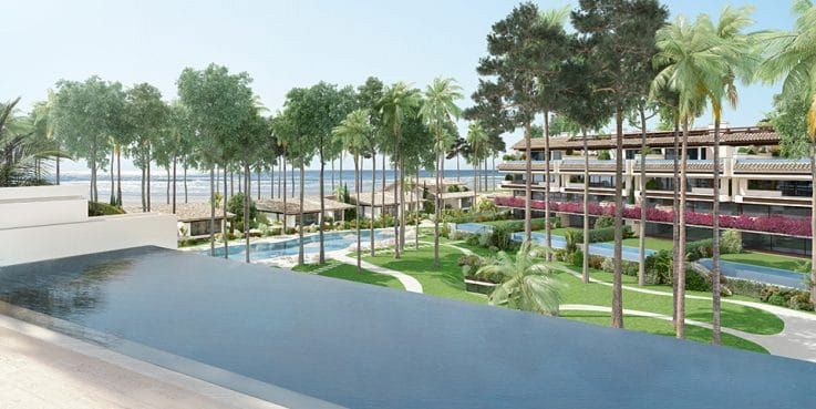 Sports stars invest in Los Llanos de Estepona: a high-end beachside project