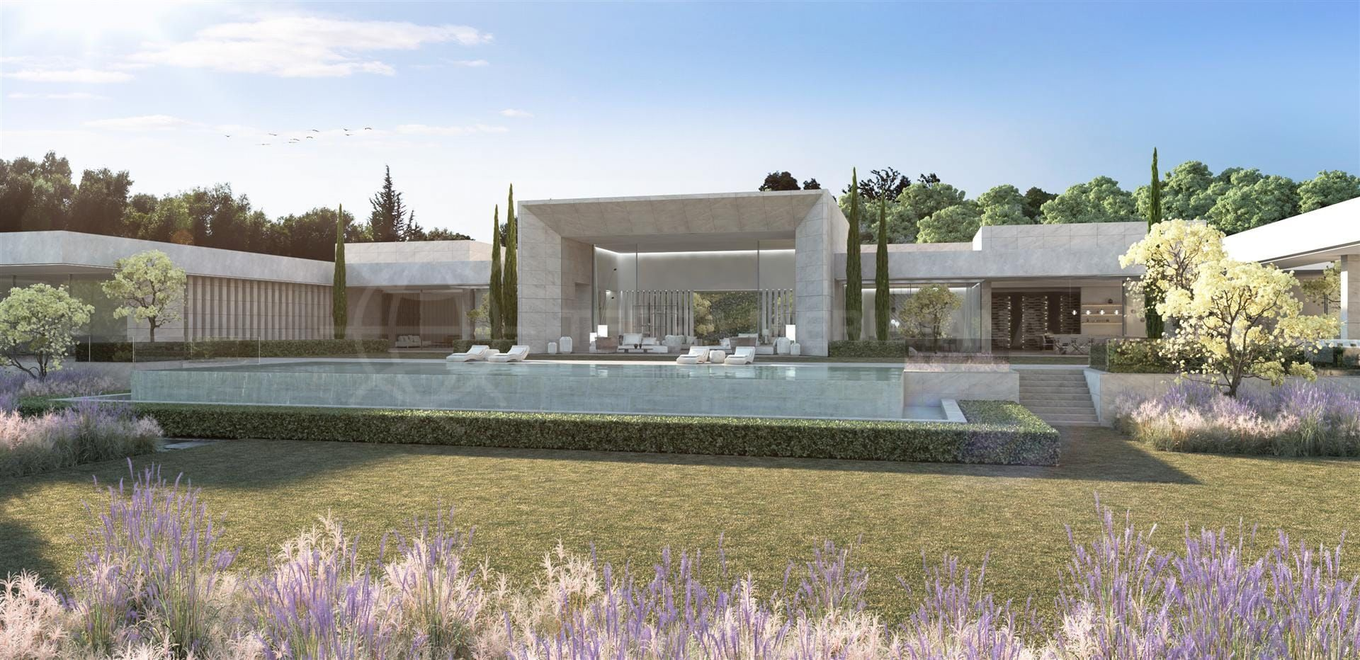 Особенный дом – великолепная вилла посреди живописных пейзажей сотогранде