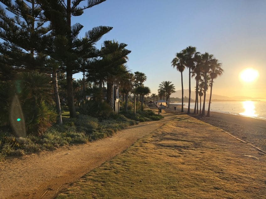 Las renovaciones del paseo marítimo están destinadas a transformar Estepona