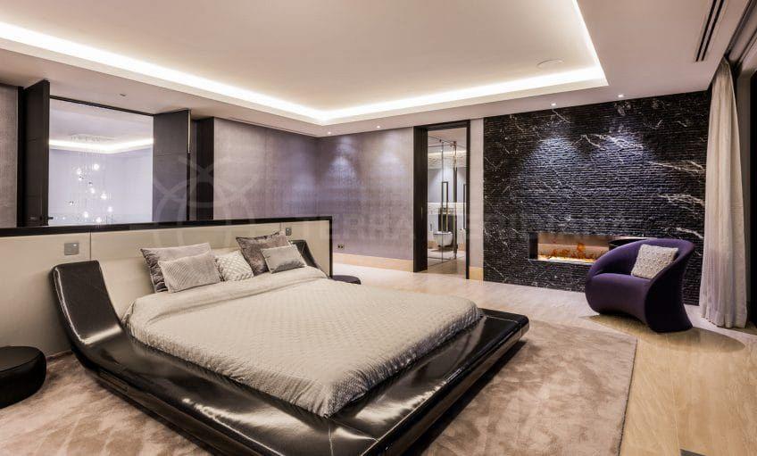 Bedroom suite in Villa Mozart
