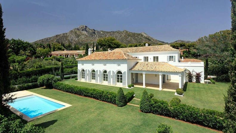 classic villa on the Costa del Sol