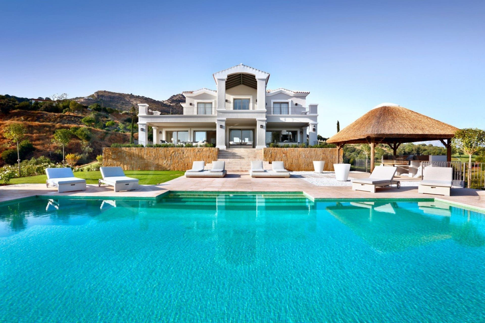 luxury villa on the Costa del Sol