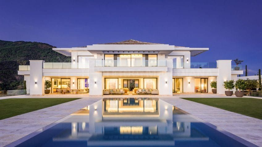 Fotografía de alta resolución vende villas de lujo