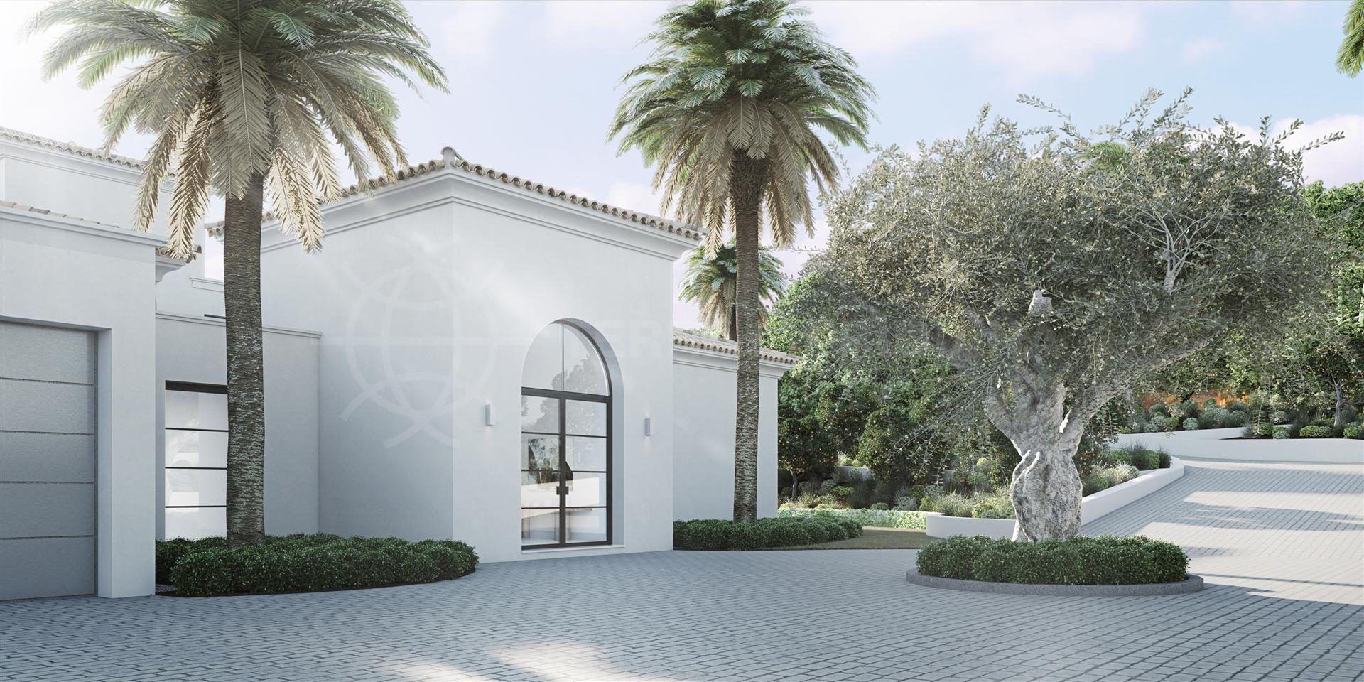 exterior of Villa Atrio