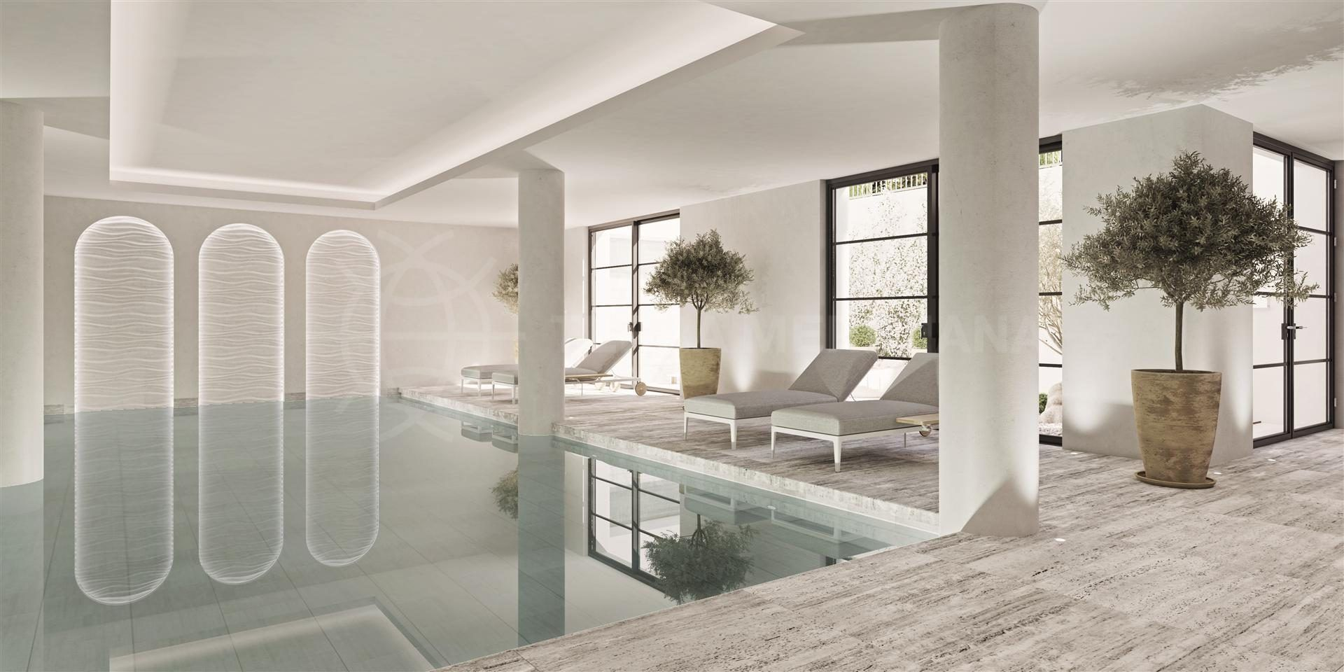 indoor pool of Villa Atrio