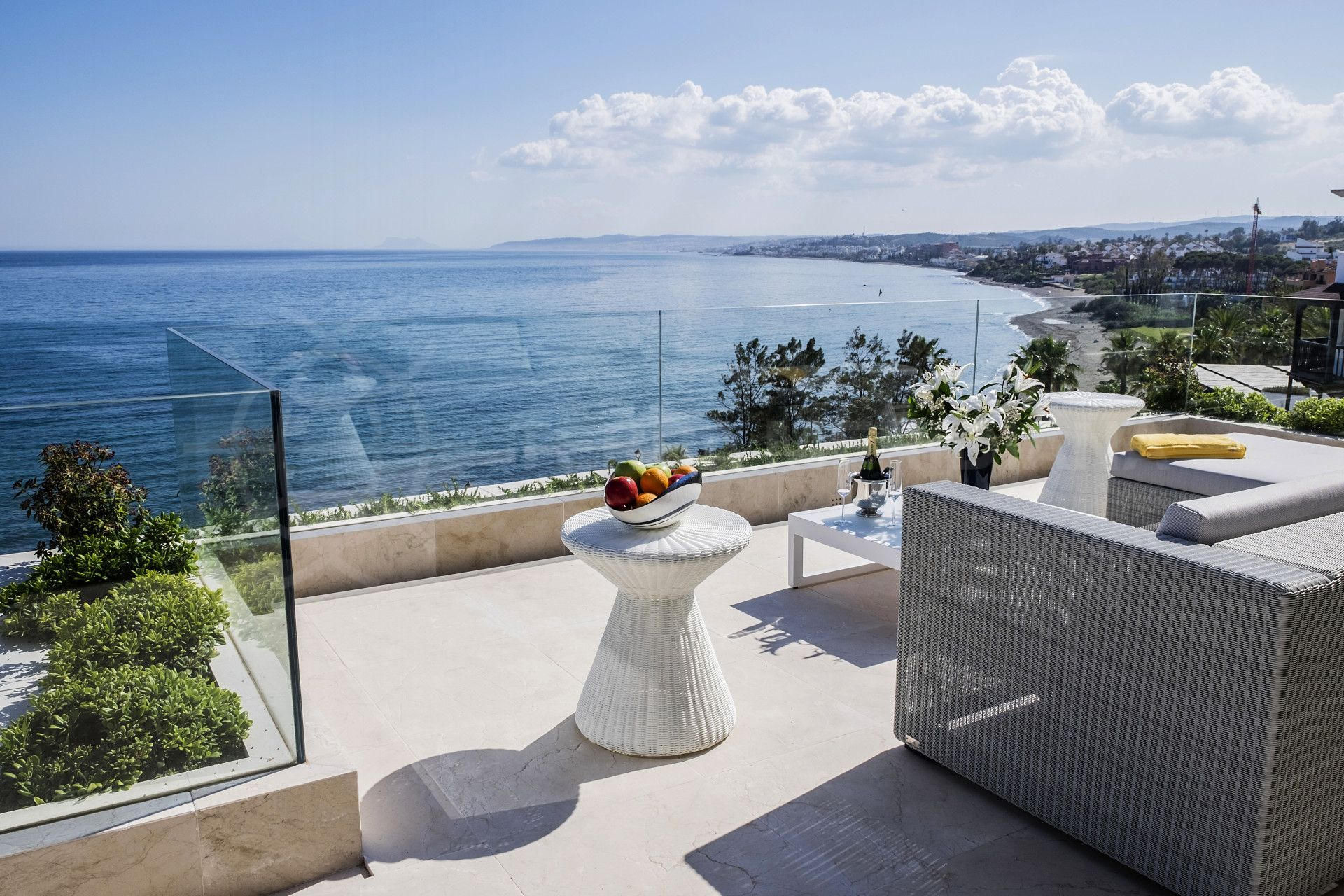 sea views from Les Rivages