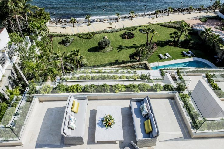 Top frontline beach developments in Estepona – Les Rivages