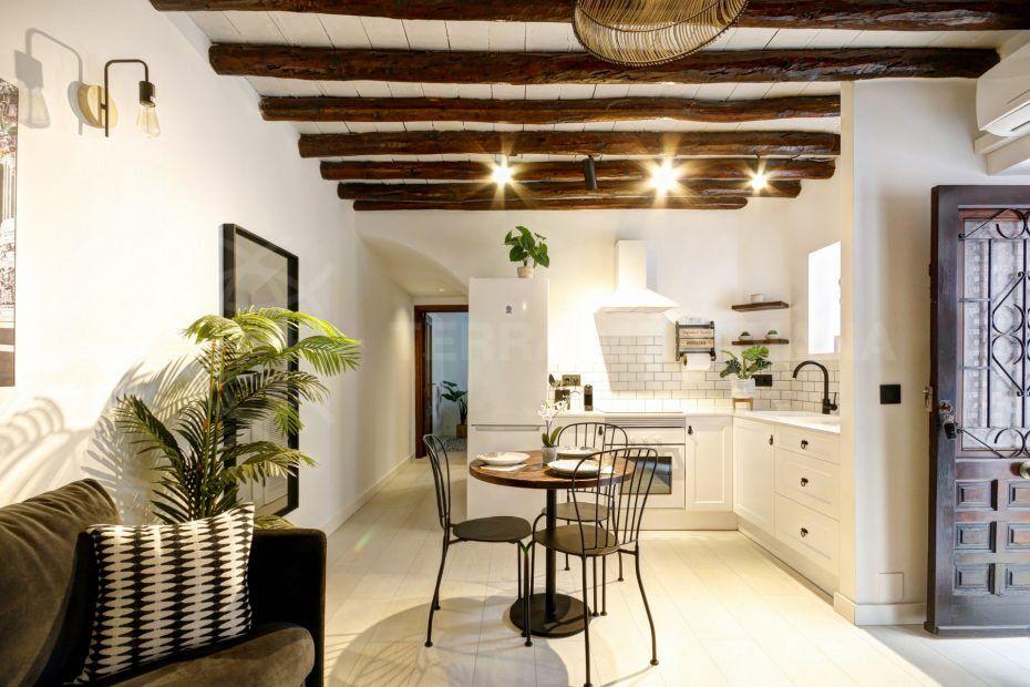 Appartement de 2 chambres au rez-de-chaussée de la vieille ville d'Estepona