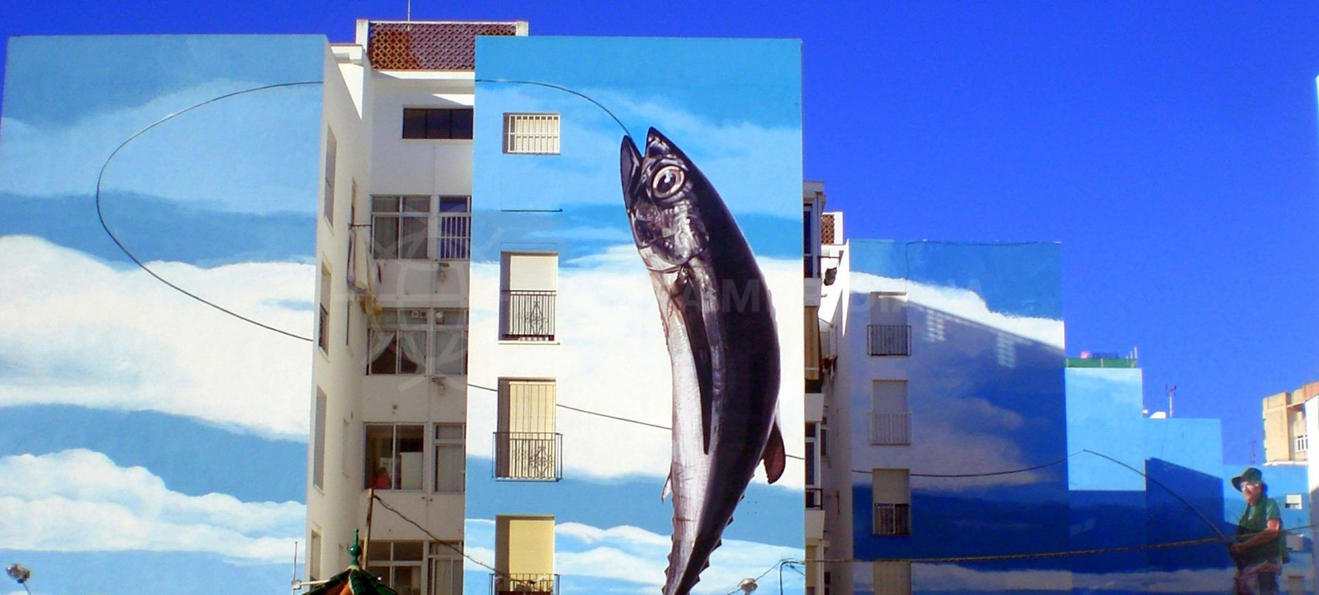 Estepona fishing mural