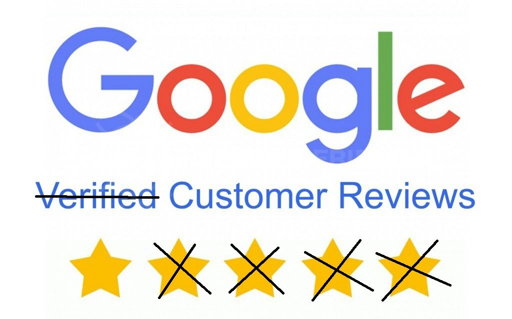 Google Verified Cistomer Reviews