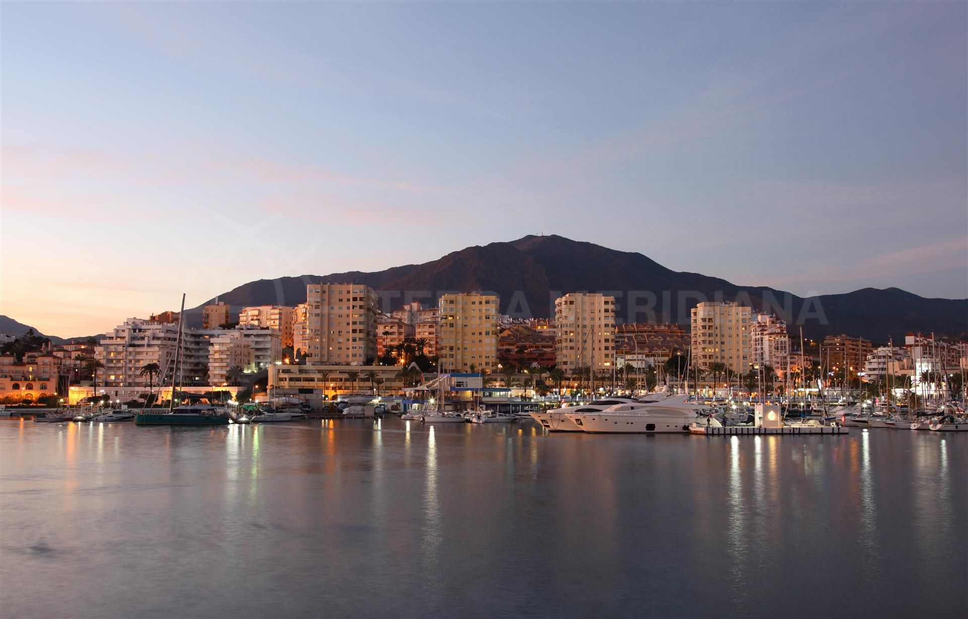 Estepona port and marina
